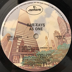 BAR-KAYS:AS ONE(LABEL SIDE-B)