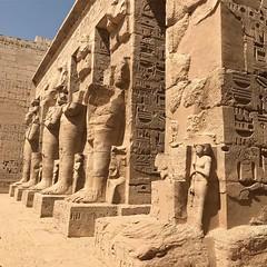 The Temple of Medinet Habu, West Bank, Luxor.
