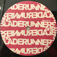 THE BLADERUNNERS:BLADERUNNERS VOL.1(LABEL SIDE-B)