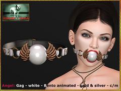 Bliensen - Angel - gag - white