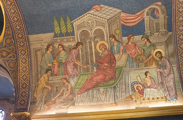 St. Sava mosaic