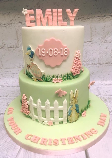 Peter Rabbit Christening Cake from Beautifully Baked by Nicola