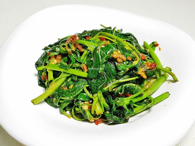 Duo Sambal Water Spinach & Sweet Potato Leaves