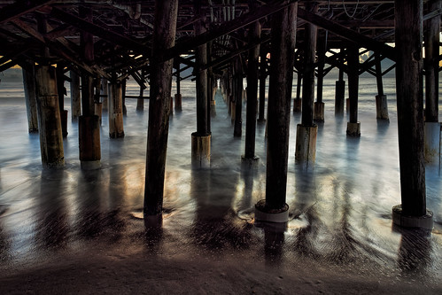 usa sunrise calm pier dawn hires ©edrosack lowlight florida longexposure beach ocean seascape buildingandarchitecture landscape sky centralflorida waterscape water cocoa olympus dock shore cocoabeach us