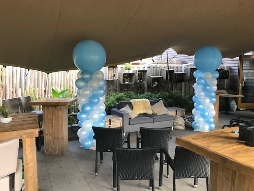 Ballonpilaar Breed Rond Brasserie Lodge Visdonk Roosendaal