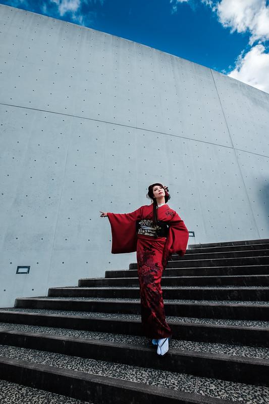 Modern Japanese style (at SHOJI UEDA MUSEUM OF PHOTOGRAPHY)