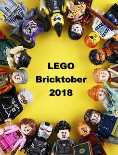 "Toys ""R"" Us Exclusives LEGO Bricktober 2018 Minifigures Sets"