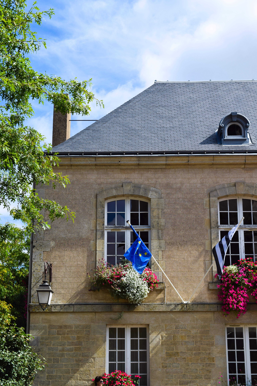 Hotel de Ville in Josselin, Brittany
