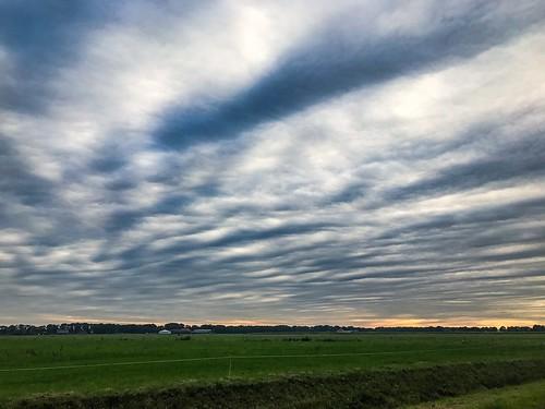 81km through a cloudy Drenthe