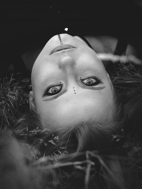 Alicja upside down