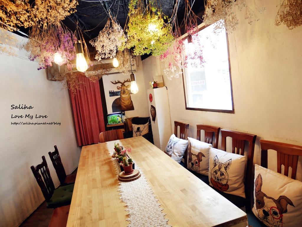 新店小碧潭站食尚玩家推薦乾燥花文青餐廳咖啡在家吃飯 (4)