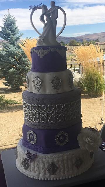 Wedding Cake by Stacey Willwerth