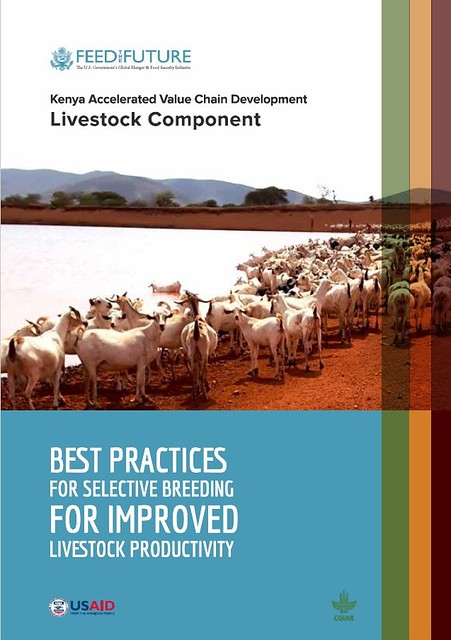 Best Practices for Selective Breeding for Improved productivity manual _module 1 cover page