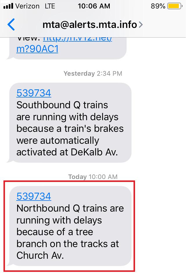 Subway Delay