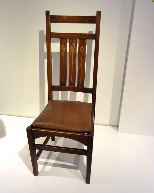 Side Chair, 1903-1904, by Gustav Stickley, Milwaukee Art Museum