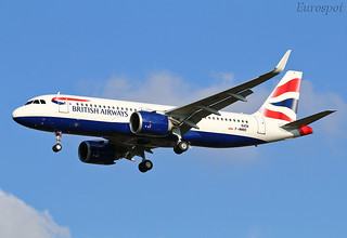 F-WWBD Airbus A320 Néo British Airways