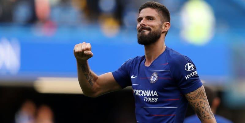 Giroud senang berjuang untuk Chelsea