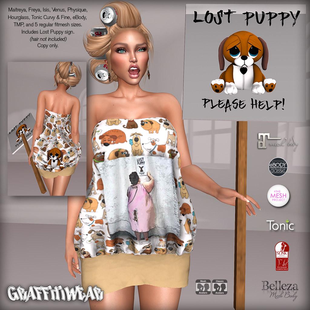 Lost Puppy Costume Ad