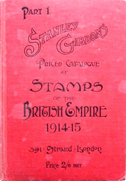 Stanley Gibbons British Commonwealth Part 1 catalogue, 1914-15