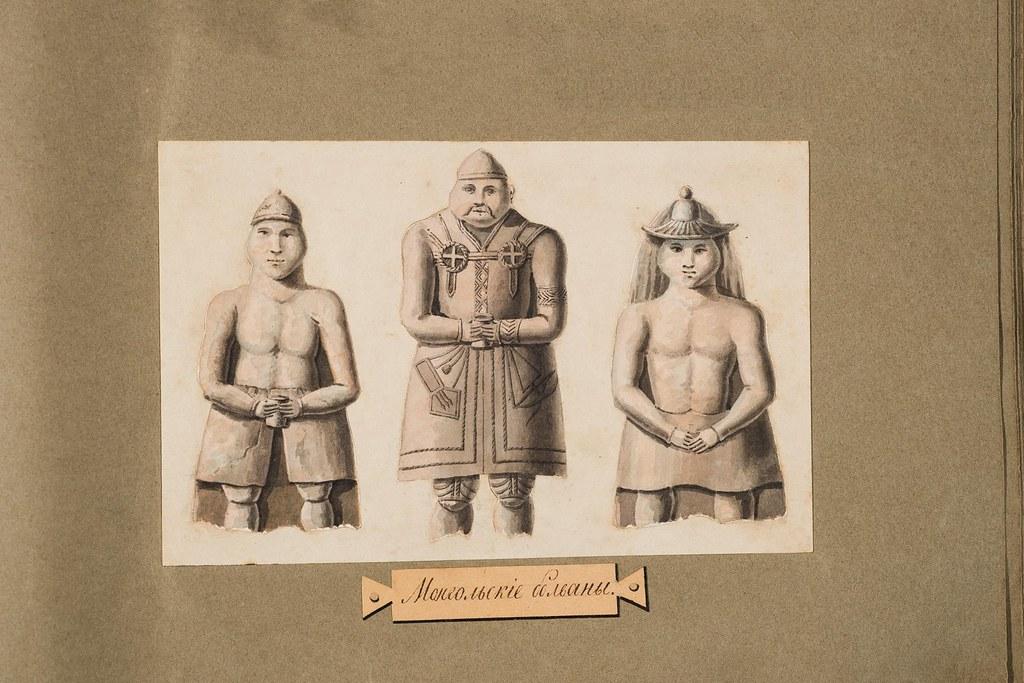 Монгольские болваны.