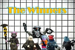 The bounty hunter contest winners