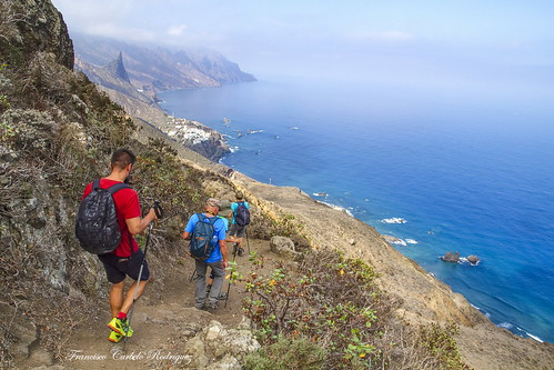 Ruta: Chamorga-CabezoTejo-RBodega. Tenerife (6-10-18)