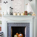 7 Beautifully Decorated Halloween Mantels