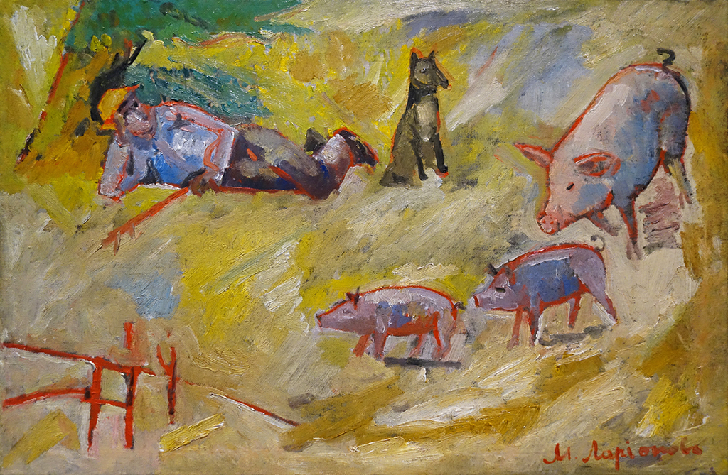 Impressionism in the Avant-garde_02_Larionov