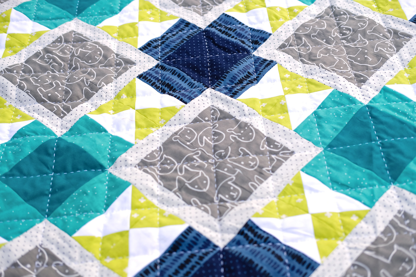 The Mary Quilt Pattern - Baby Version