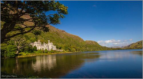 kylemore abbey ireland irlanda connemara paesaggio lago