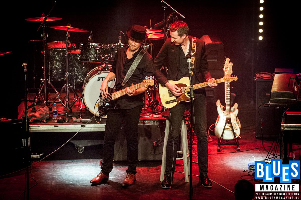 The King's Rhythm Crew ft. Hugh Coltman and Jon Amor @ Amstelveen City Blues 2018