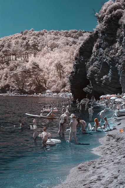 Mogren Beach, Budva, Montenegro, Sony NEX-3N, E 35mm F1.8 OSS