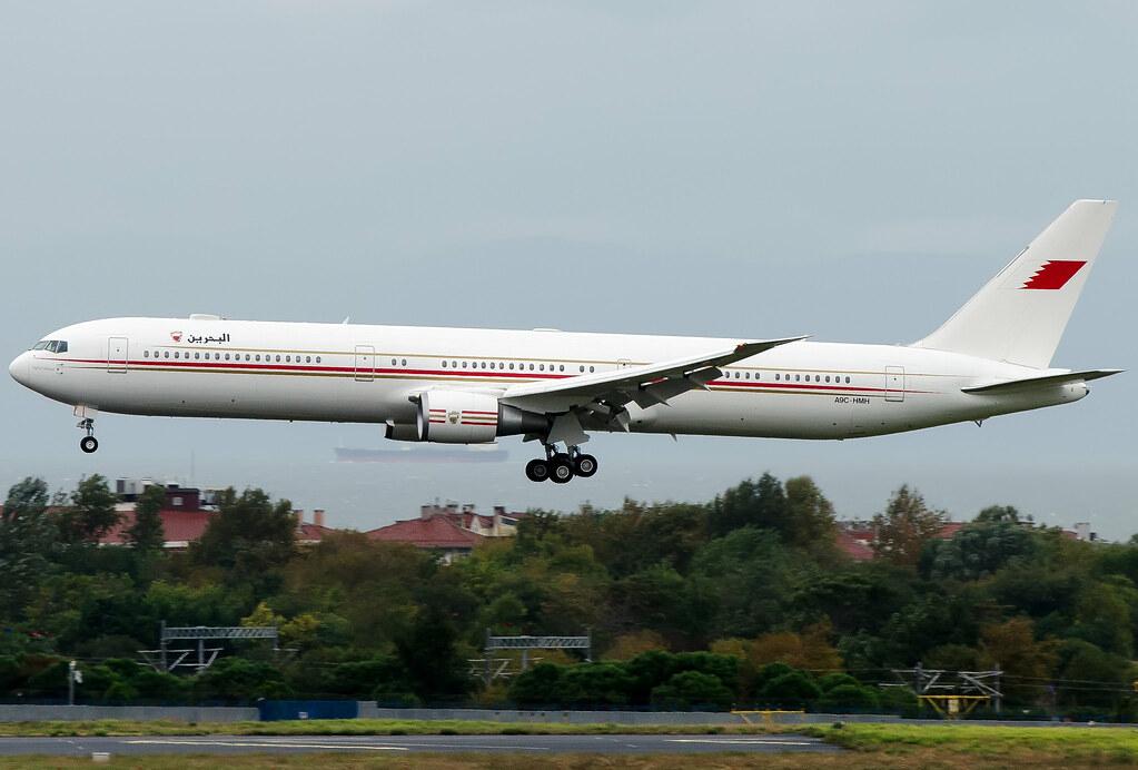 A9C-HMH Bahrain Royal Flight Boeing 767-4FS/ER