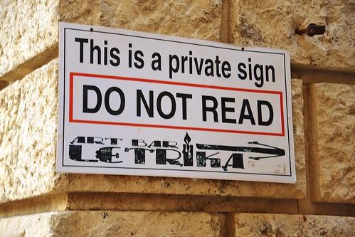 Do not read.