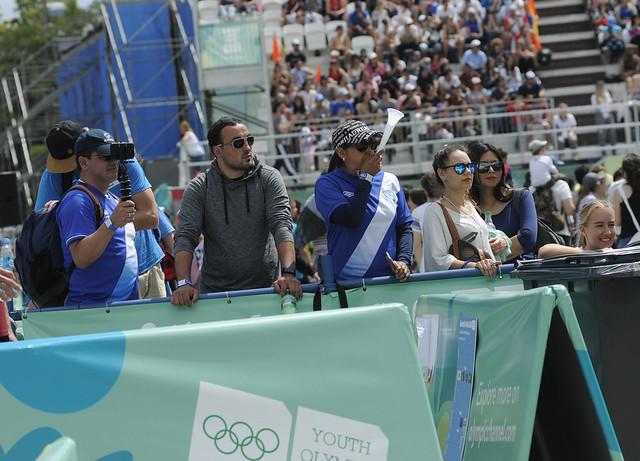 Equipo de voleibol de playa cierra participación en Buenos Aires 2018