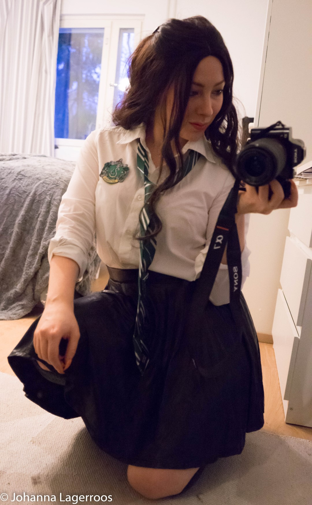 Slytherin student costume