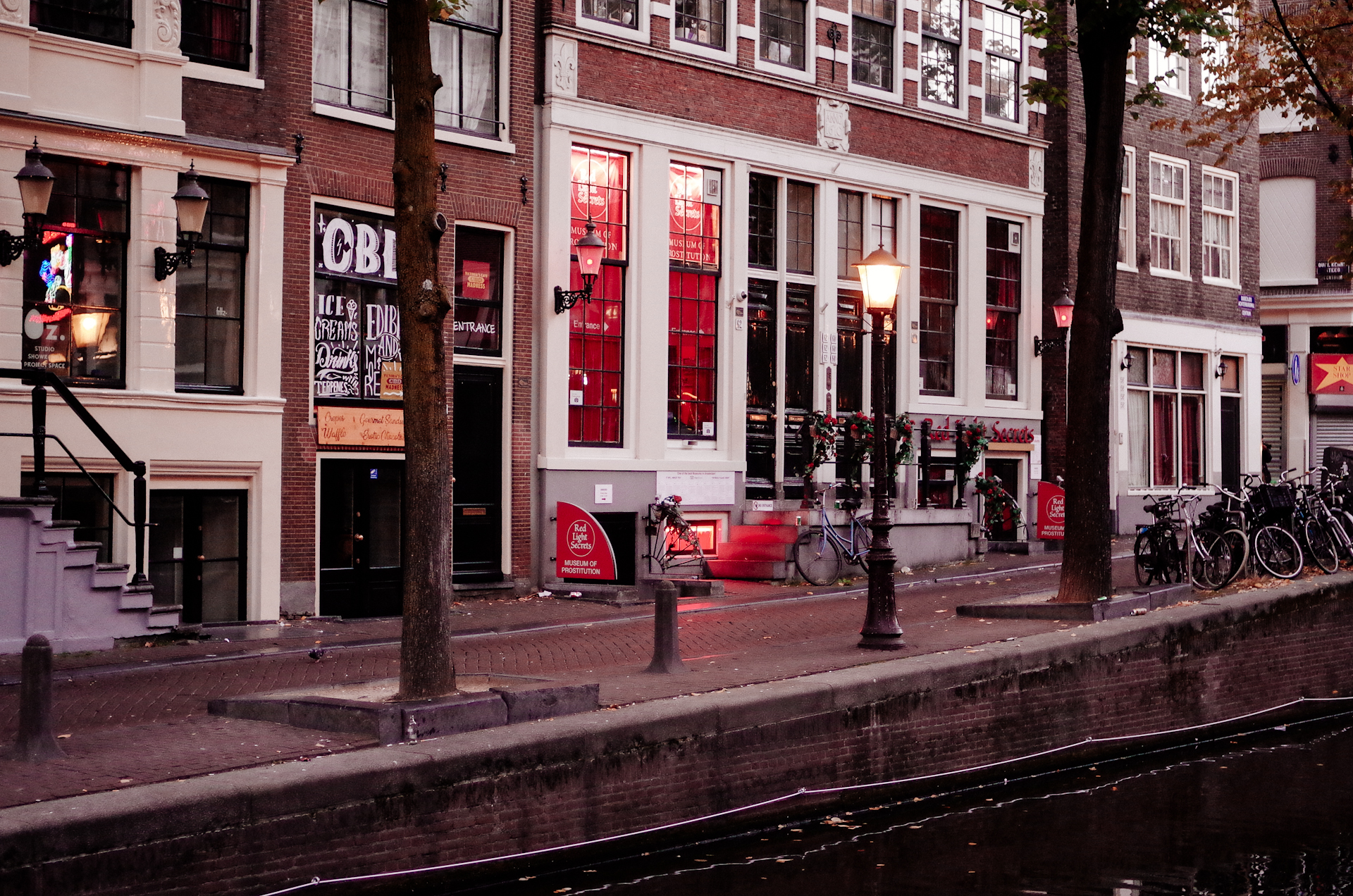 Amsterdam, Morning in the Red Light District