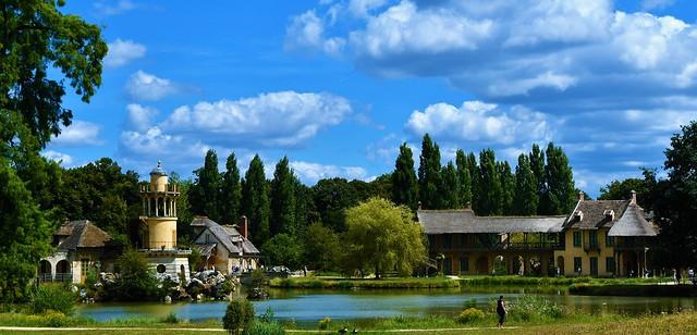 Le domaine du Trianon et le hameau de la Reine