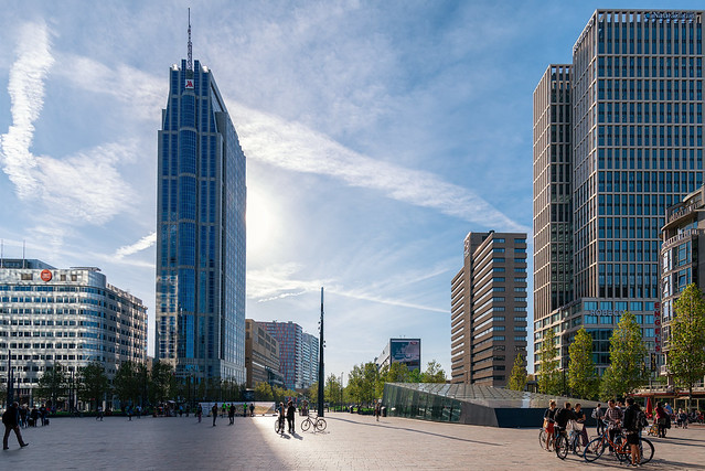 Rotterdam CS station square