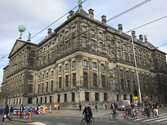 Royal Palace ofl Amsterdam - Holland - October 2018