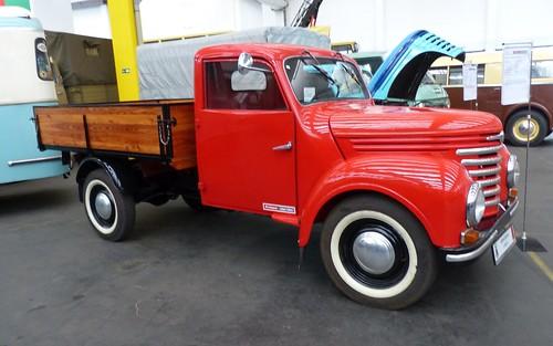 Framo Barkas V901-2 1958 red vr3