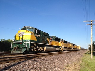 C&NW Heritage SD70ACe UP 1995-M-PRSS