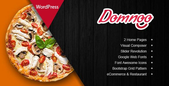 Domnoo 1.2.0 – Pizza & Restaurant WordPress Theme