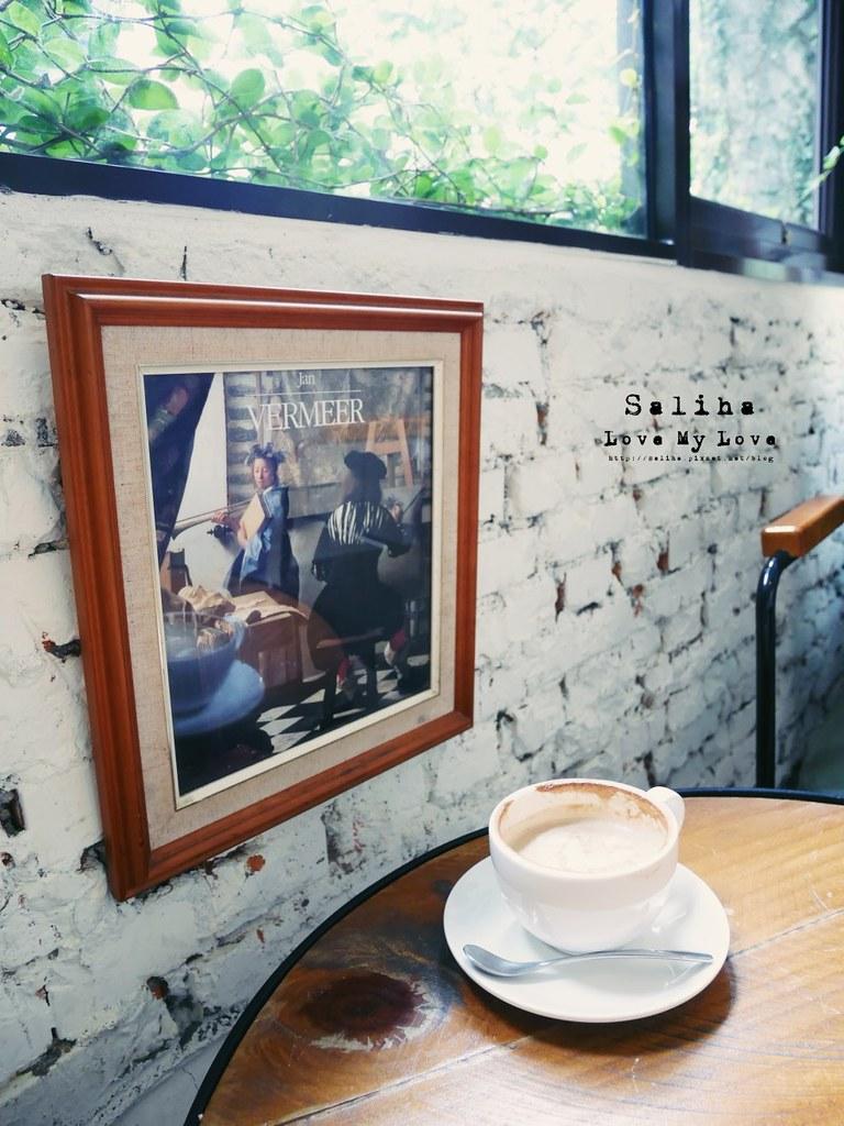 台北大安森林公園站附近韓風咖啡館2J CAFE (6)