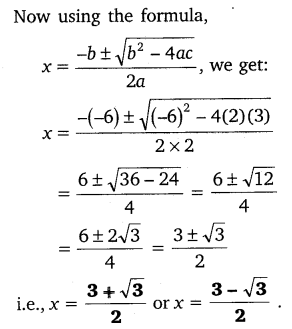 NCERT Solutions for Class 10 Maths Chapter 4 Quadratic Equations 43