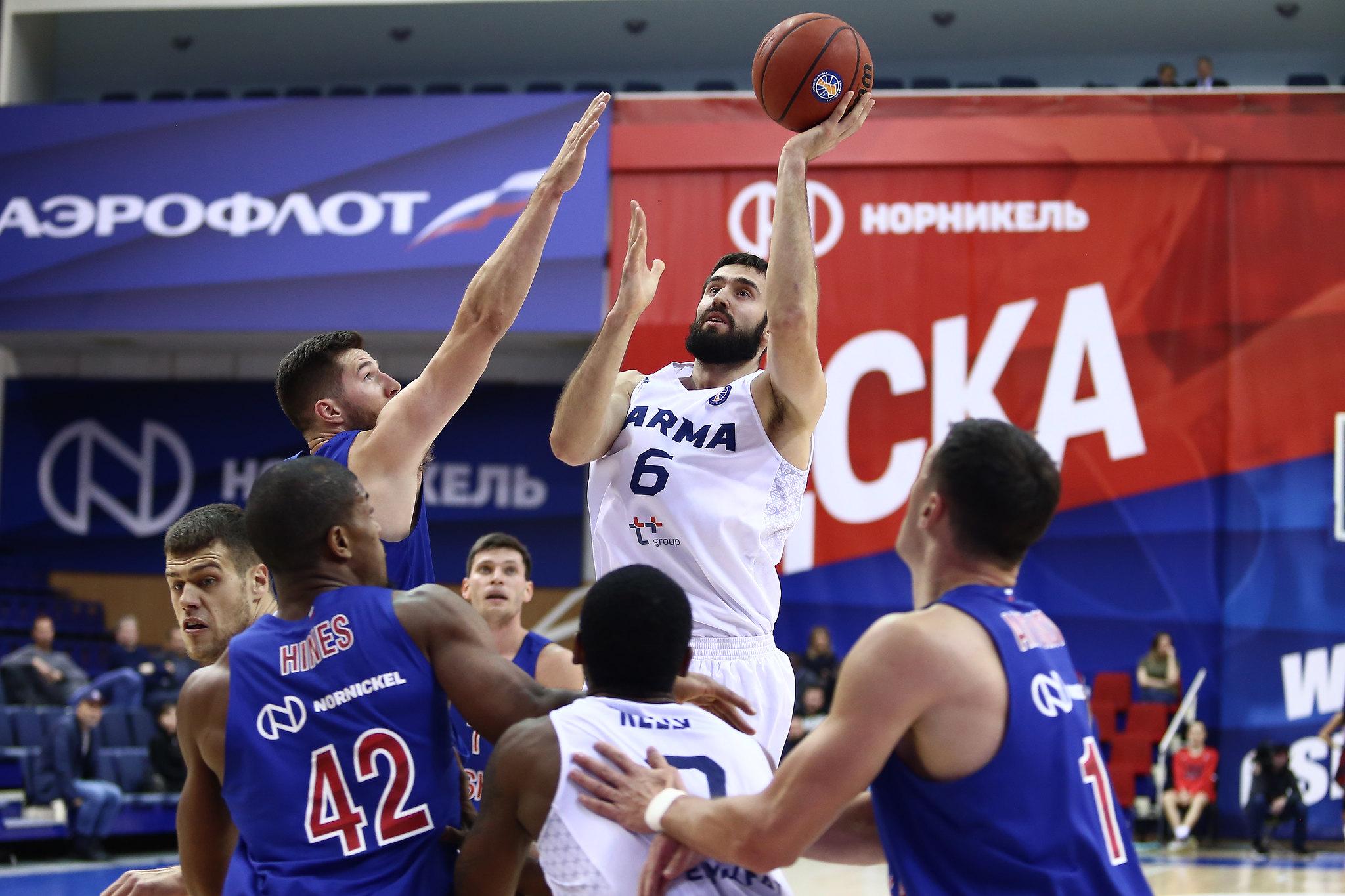 29/10/2018 CSKA-PARMA 108:84