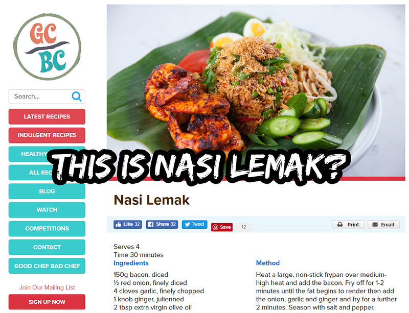 nasi lemak good chef