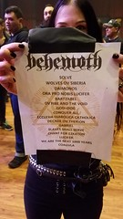 Behemoth set list