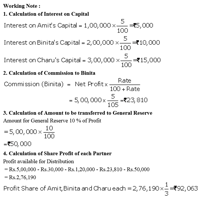 TS Grewal Accountancy Class 12 Solutions Chapter 1 Accounting for Partnership Firms - Fundamentals Q54.2