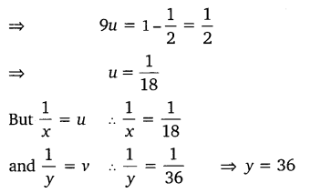 NCERT Solutions for Class 10 Maths Chapter 3 Pair of Linear Equations in Two Variables e6 2c